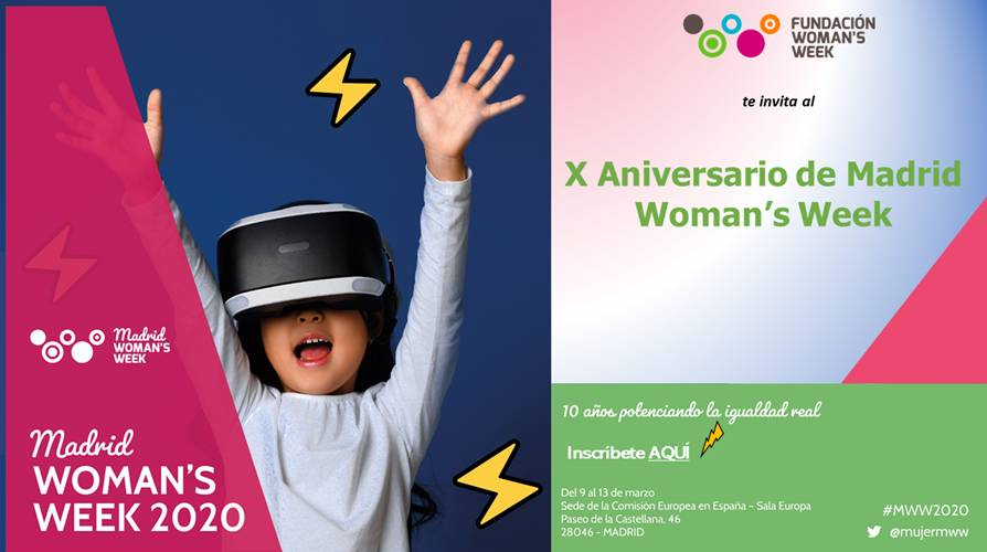 Te invitamos al X aniversario de Madrid Woman's Week 💗